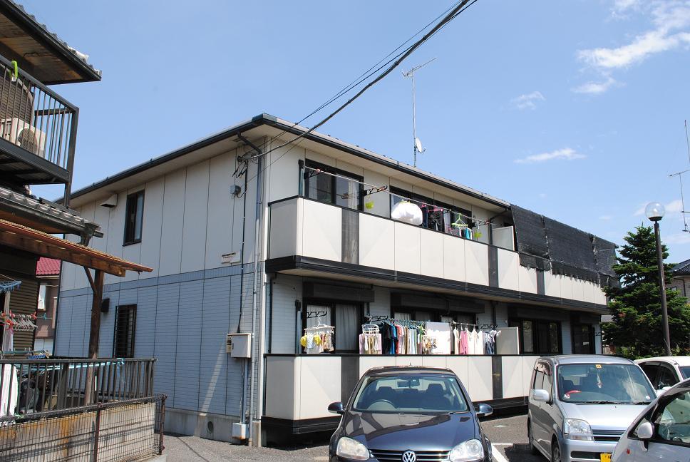 埼玉県深谷市、深谷駅徒歩25分の築19年 2階建の賃貸アパート
