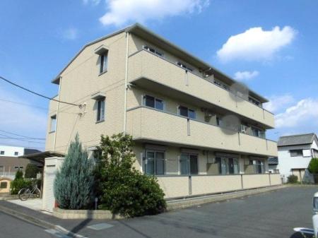 埼玉県深谷市、深谷駅徒歩7分の築5年 3階建の賃貸アパート
