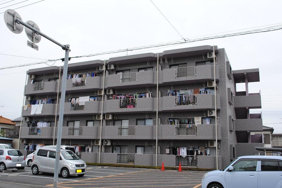 埼玉県深谷市、深谷駅徒歩25分の築17年 4階建の賃貸マンション