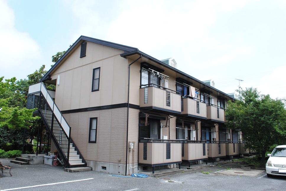 埼玉県熊谷市、熊谷駅徒歩16分の築20年 2階建の賃貸アパート