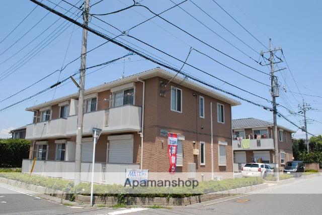 埼玉県熊谷市、籠原駅徒歩17分の築7年 2階建の賃貸アパート