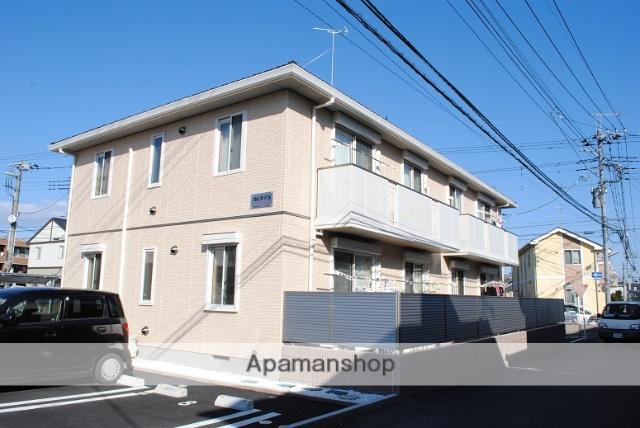 埼玉県熊谷市、籠原駅徒歩22分の築3年 2階建の賃貸アパート