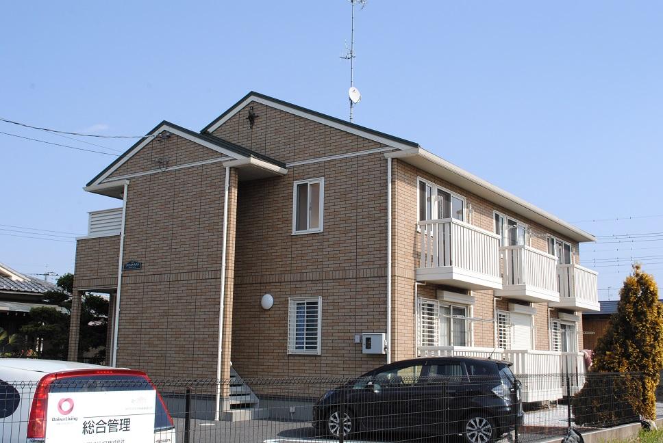 埼玉県深谷市、籠原駅徒歩25分の築9年 2階建の賃貸アパート