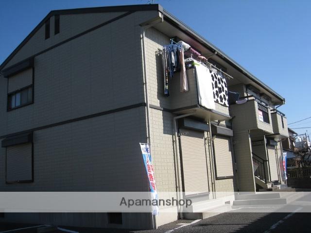 埼玉県鴻巣市、吹上駅徒歩7分の築23年 2階建の賃貸アパート