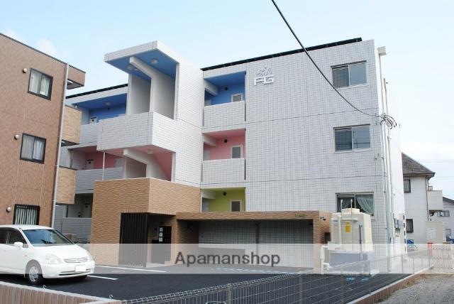 埼玉県熊谷市、熊谷駅徒歩13分の築2年 3階建の賃貸マンション