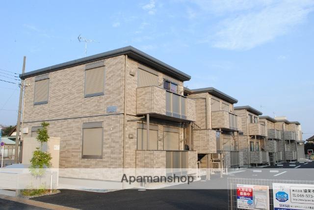埼玉県深谷市、籠原駅徒歩30分の築2年 2階建の賃貸アパート