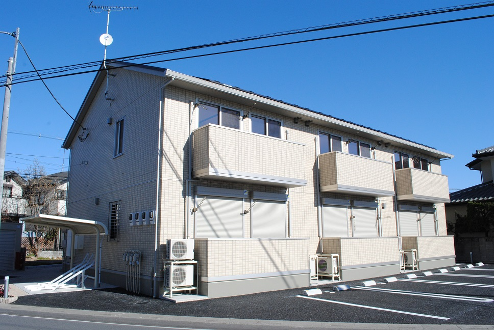 埼玉県熊谷市、ひろせ野鳥の森駅徒歩11分の築1年 2階建の賃貸アパート