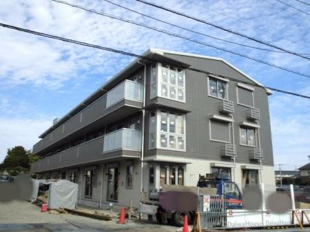 埼玉県熊谷市、熊谷駅徒歩14分の新築 3階建の賃貸アパート