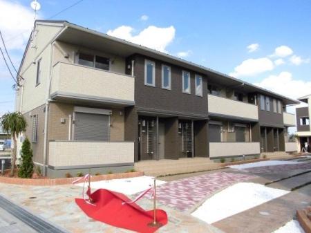 埼玉県熊谷市、石原駅徒歩14分の新築 2階建の賃貸アパート