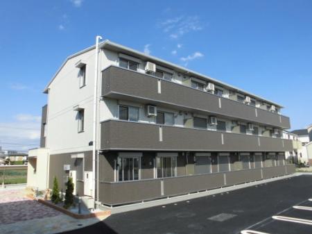 埼玉県熊谷市、石原駅徒歩14分の新築 3階建の賃貸アパート