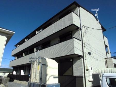 埼玉県深谷市、深谷駅徒歩27分の新築 3階建の賃貸アパート