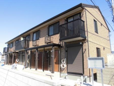 埼玉県行田市、行田駅徒歩13分の新築 2階建の賃貸アパート