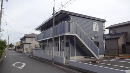 埼玉県行田市、行田市駅徒歩10分の築29年 2階建の賃貸アパート