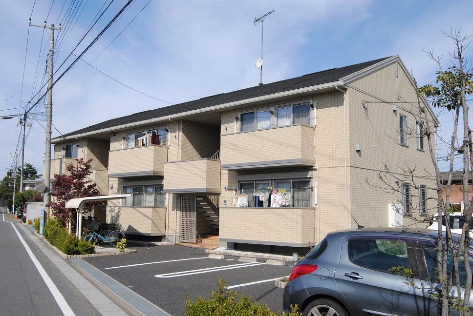 埼玉県熊谷市、熊谷駅徒歩38分の築7年 2階建の賃貸アパート