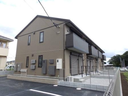 埼玉県深谷市、武川駅徒歩2分の築2年 2階建の賃貸アパート