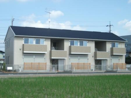 埼玉県熊谷市、行田駅徒歩7分の築6年 2階建の賃貸アパート