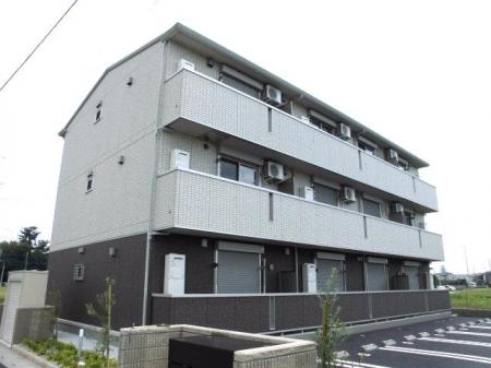埼玉県深谷市、深谷駅徒歩22分の新築 3階建の賃貸アパート