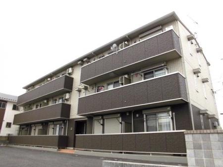 埼玉県深谷市、深谷駅徒歩9分の築3年 3階建の賃貸アパート
