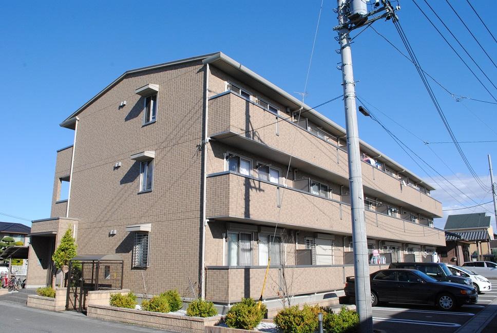 埼玉県深谷市、深谷駅徒歩16分の築7年 3階建の賃貸アパート