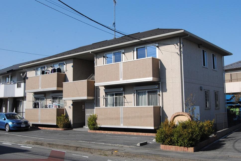 埼玉県熊谷市、熊谷駅徒歩15分の築5年 2階建の賃貸アパート