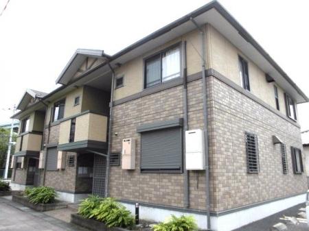 埼玉県熊谷市、熊谷駅バス25分ハナミズキ通り下車後徒歩3分の築14年 2階建の賃貸アパート