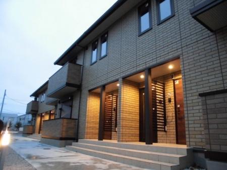 埼玉県熊谷市、ひろせ野鳥の森駅徒歩17分の新築 2階建の賃貸アパート