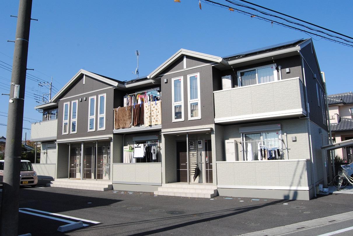 埼玉県熊谷市、熊谷駅徒歩30分の築1年 2階建の賃貸アパート