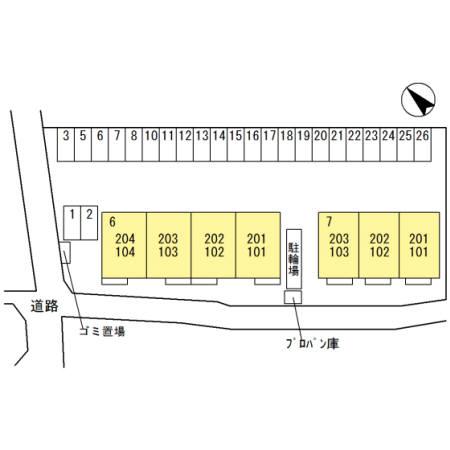 埼玉県熊谷市、石原駅徒歩15分の新築 2階建の賃貸アパート