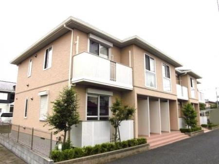 埼玉県熊谷市、ひろせ野鳥の森駅徒歩12分の築5年 2階建の賃貸アパート
