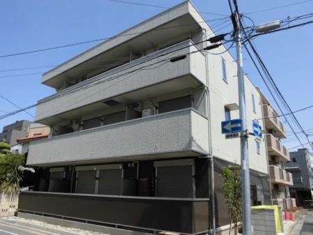 埼玉県熊谷市、熊谷駅徒歩7分の新築 3階建の賃貸アパート