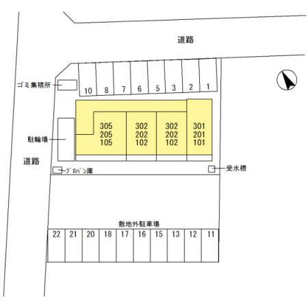 埼玉県熊谷市、籠原駅徒歩5分の新築 3階建の賃貸アパート