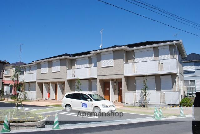 埼玉県熊谷市、熊谷駅バス15分西熊谷病院前下車後徒歩8分の築2年 2階建の賃貸アパート