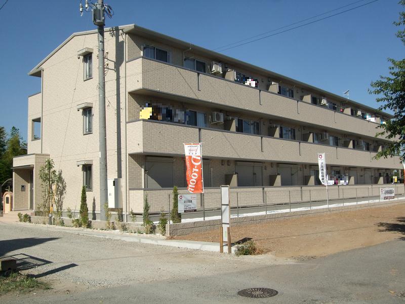 埼玉県深谷市、深谷駅徒歩13分の築5年 3階建の賃貸アパート