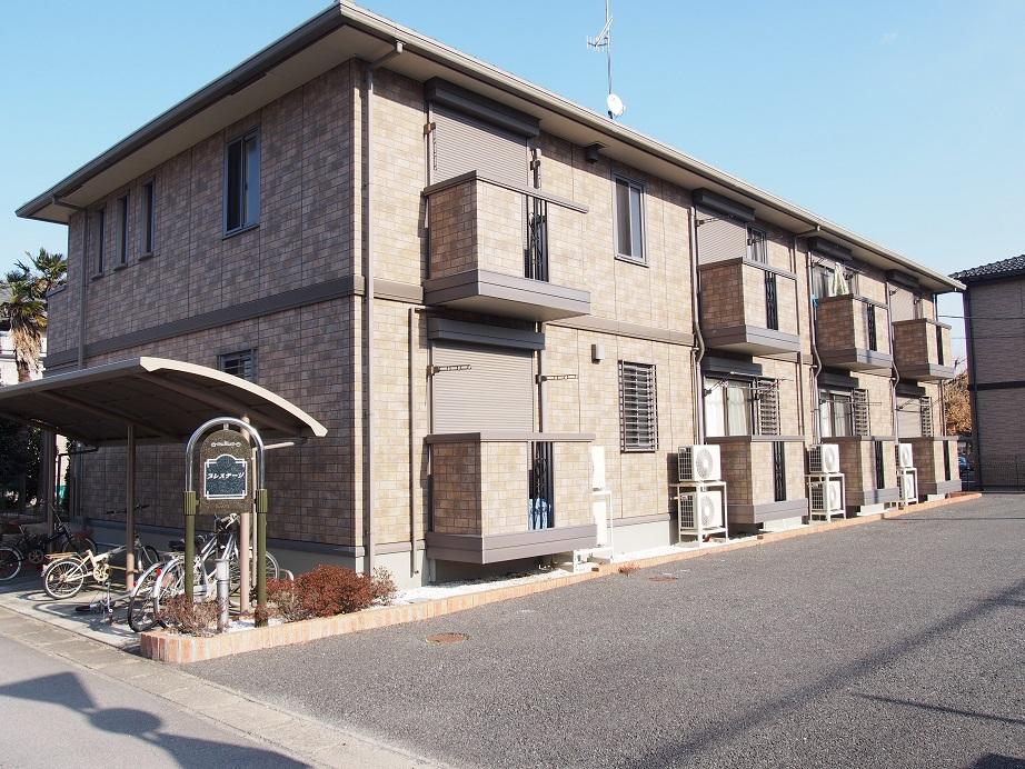 埼玉県深谷市、籠原駅徒歩23分の築10年 2階建の賃貸アパート