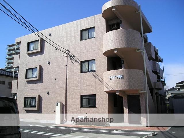 埼玉県深谷市、籠原駅徒歩6分の築13年 3階建の賃貸マンション