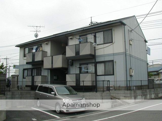 埼玉県行田市、吹上駅あさひバスバス10分産業道路下車後徒歩5分の築20年 2階建の賃貸アパート