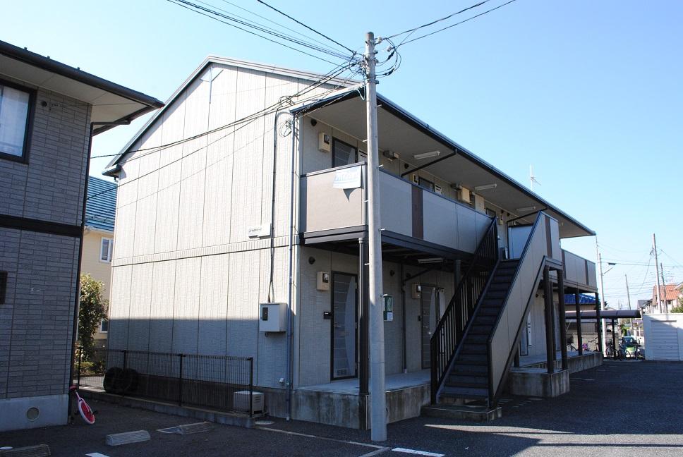 埼玉県熊谷市、熊谷駅徒歩20分の築19年 2階建の賃貸アパート