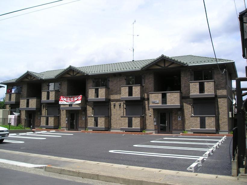 埼玉県深谷市、深谷駅徒歩22分の築10年 2階建の賃貸アパート