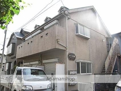 埼玉県鶴ヶ島市、若葉駅徒歩10分の築29年 2階建の賃貸アパート
