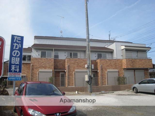 埼玉県川越市、笠幡駅徒歩1分の築9年 2階建の賃貸テラスハウス