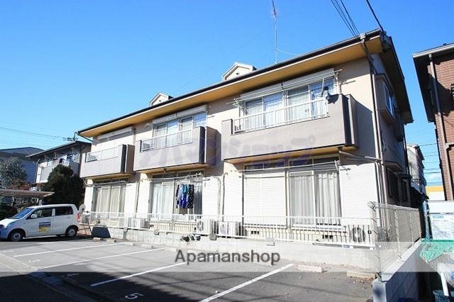 埼玉県川越市、笠幡駅徒歩23分の築25年 2階建の賃貸アパート