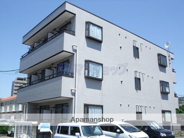 埼玉県川越市、鶴ヶ島駅徒歩2分の築27年 3階建の賃貸マンション