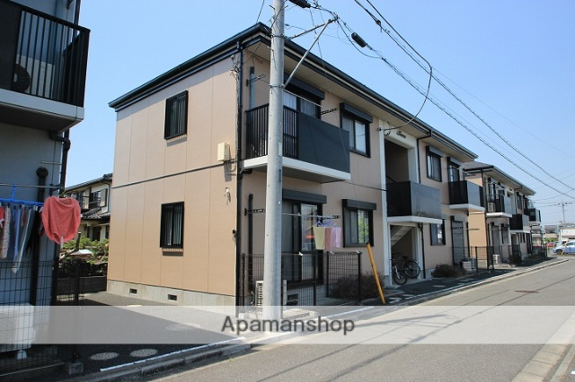 埼玉県川越市、鶴ヶ島駅徒歩19分の築18年 2階建の賃貸アパート