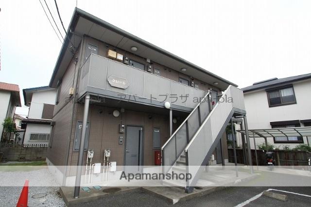 埼玉県川越市、西川越駅徒歩6分の築16年 2階建の賃貸アパート
