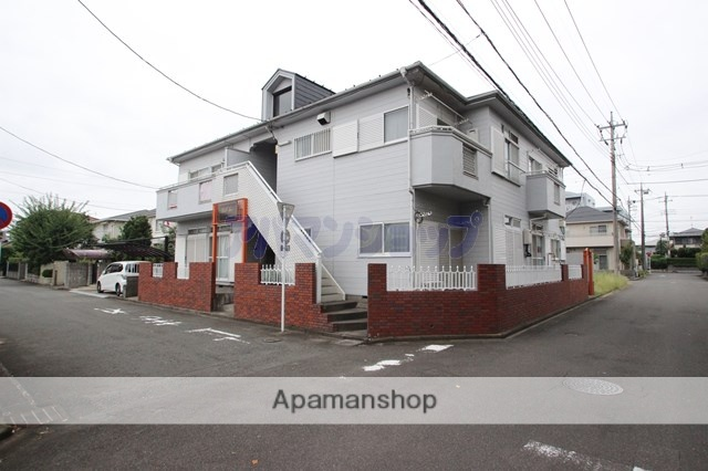 埼玉県鶴ヶ島市、的場駅徒歩34分の築27年 2階建の賃貸アパート