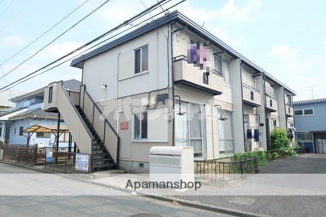 埼玉県鶴ヶ島市、若葉駅徒歩25分の築33年 2階建の賃貸アパート