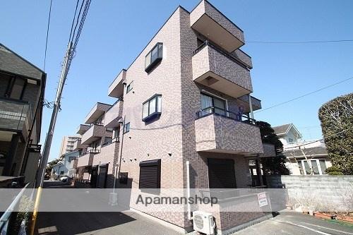 埼玉県川越市、鶴ヶ島駅徒歩5分の築18年 3階建の賃貸マンション