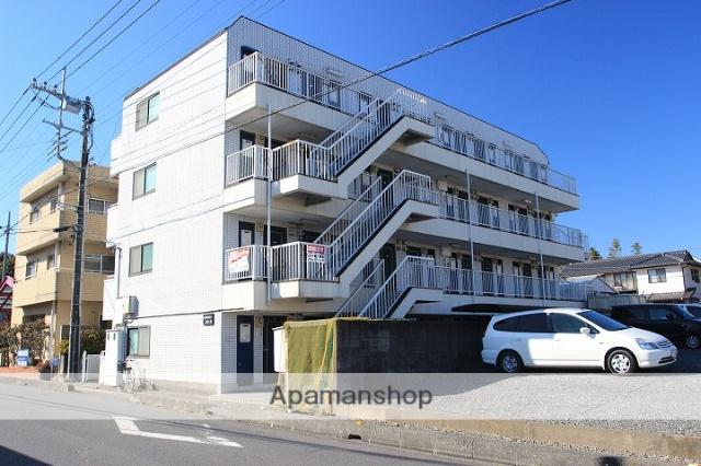 埼玉県川越市、霞ヶ関駅徒歩30分の築27年 4階建の賃貸マンション