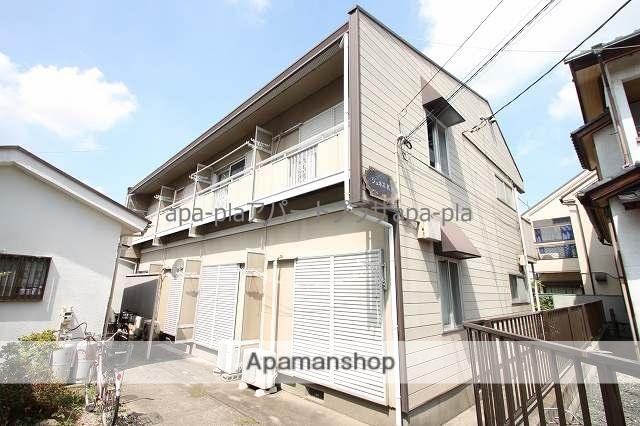 埼玉県川越市、川越駅徒歩17分の築30年 2階建の賃貸アパート