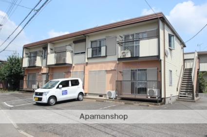 埼玉県川越市、鶴ヶ島駅徒歩12分の築28年 2階建の賃貸アパート